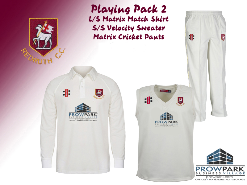 Redruth CC Playing Pack 2 Adults