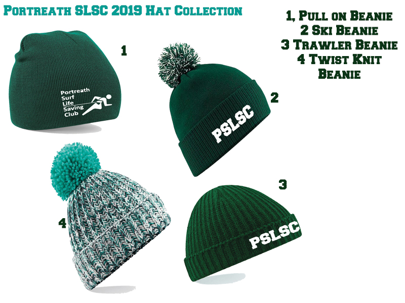 Portreath SLSC Ski Beanie Collection