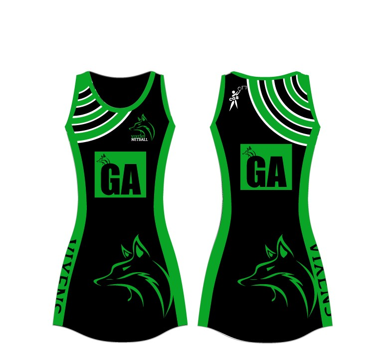 Vixens Netball Dress