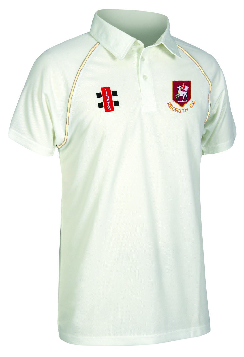 Redruth CC Playing Shirt Short Sleeved