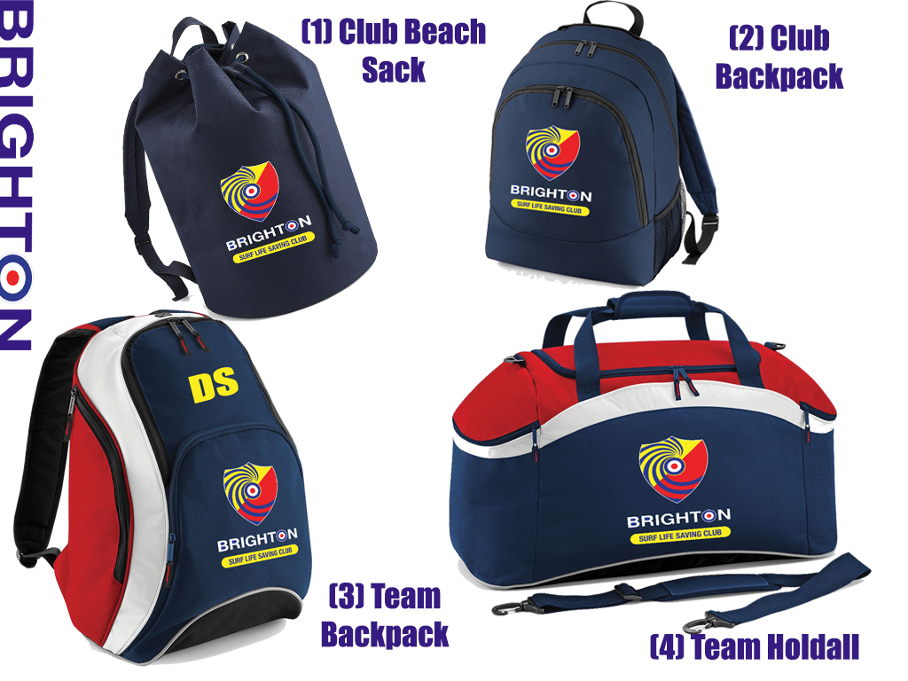 Brighton SLSC Bag Collection