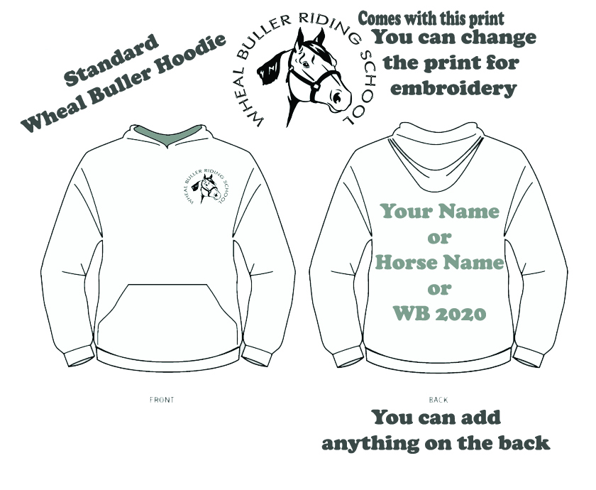 Wheal Buller Hoodie Children Sizes