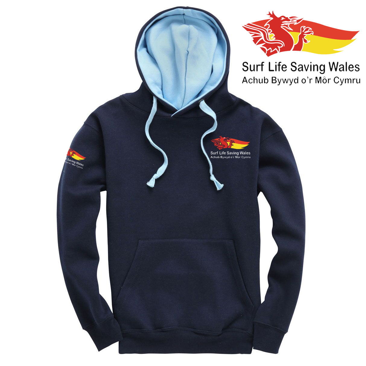 SLSA Wales Adult Twin Colour Hoodie