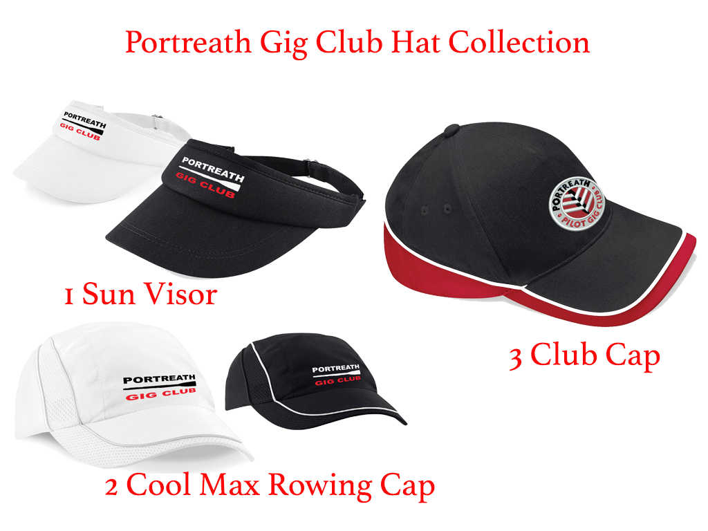 Portreath Gig Club Hat Collection