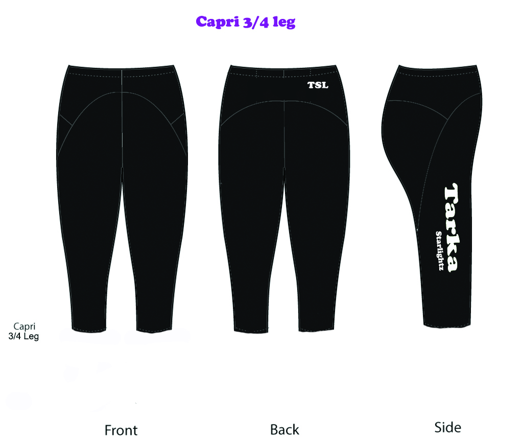 TSL 3/4 Capri Leggings