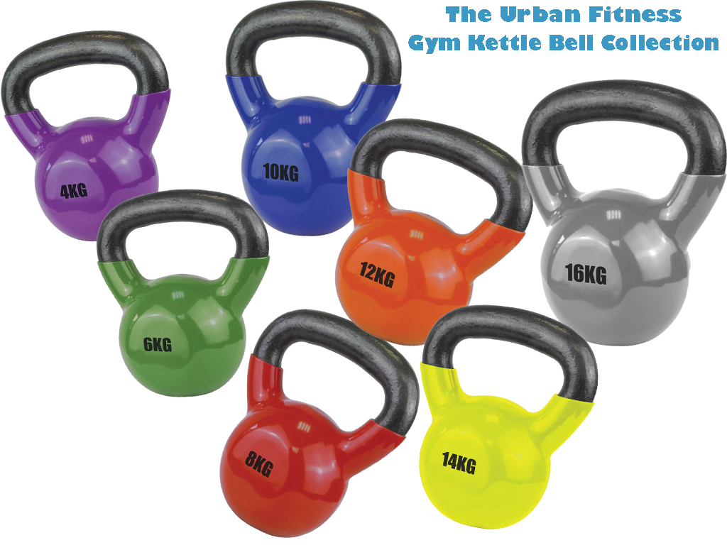 UF Kettlebell Gym Collection Set of 7