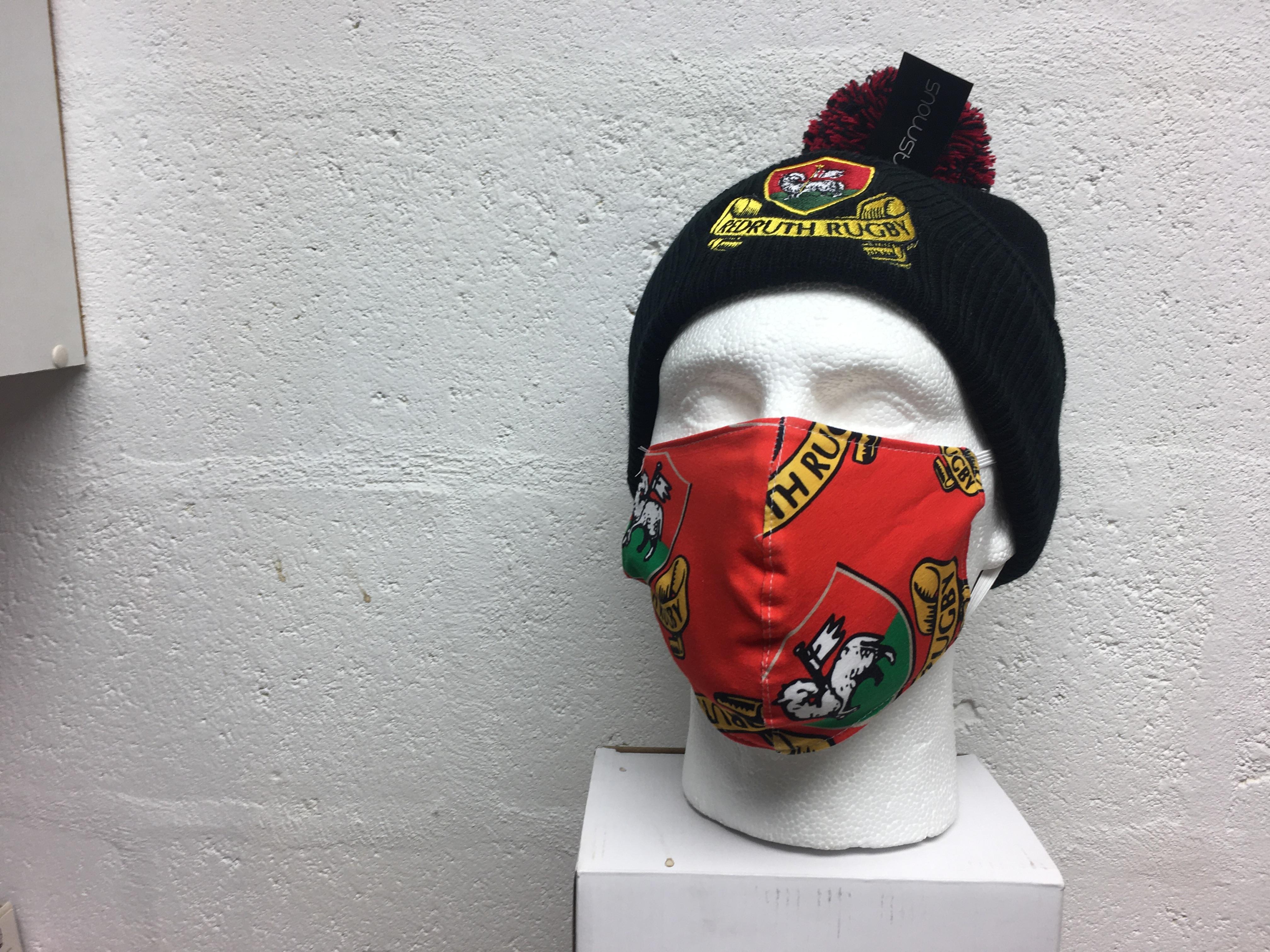 Cotton 2 Layer Hellfire Masks