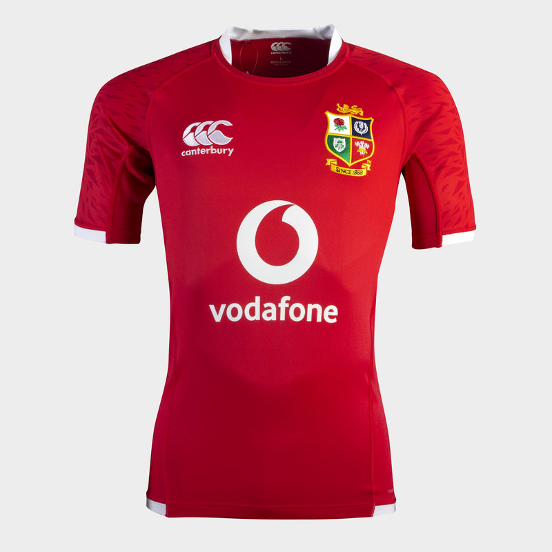 British and Irish Lions Pro Fit Match Shirt, Youth