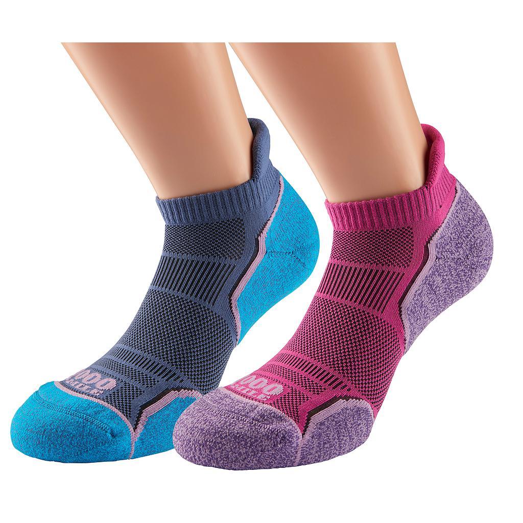 1000 Mile Run Socks Twin Pack